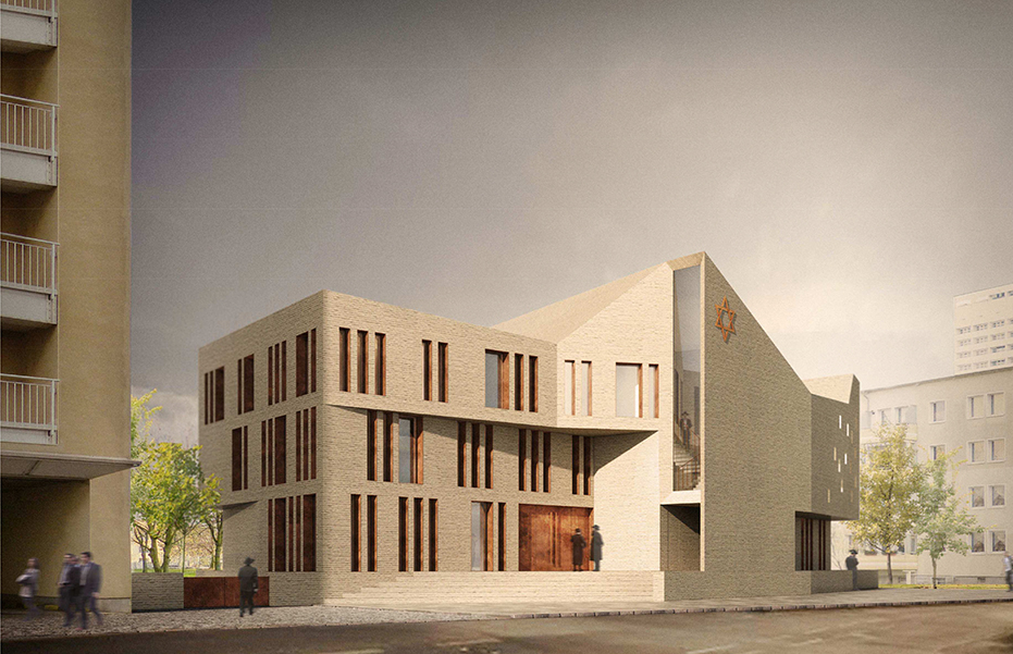 geplante neue Synagoge in Magdeburg